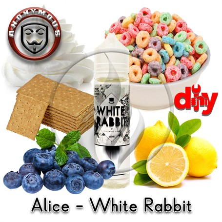 Alev KimyaAnonymous MiX - Alice in VapeLand - White Rabbit Diy KitAK-Alice in VapeLand - White Rabbit