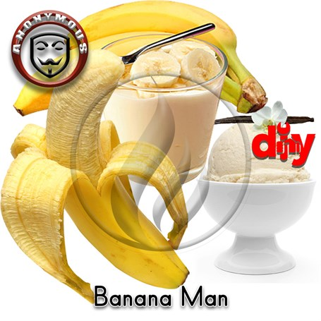 Alev KimyaAnonymous MiX - Banana Man Diy KitAK-Banana Man