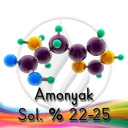 Amonyak Sol. % 22-25 - For Synthesis [7664-41-7] 2,5 Lt