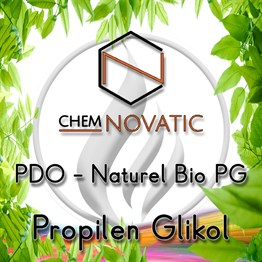 Chemnovatic PDO Naturel Bio PG Propilen Glikol [57-55-6]