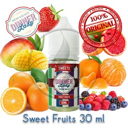 Sweet Fruits 30ml Orj Şişe